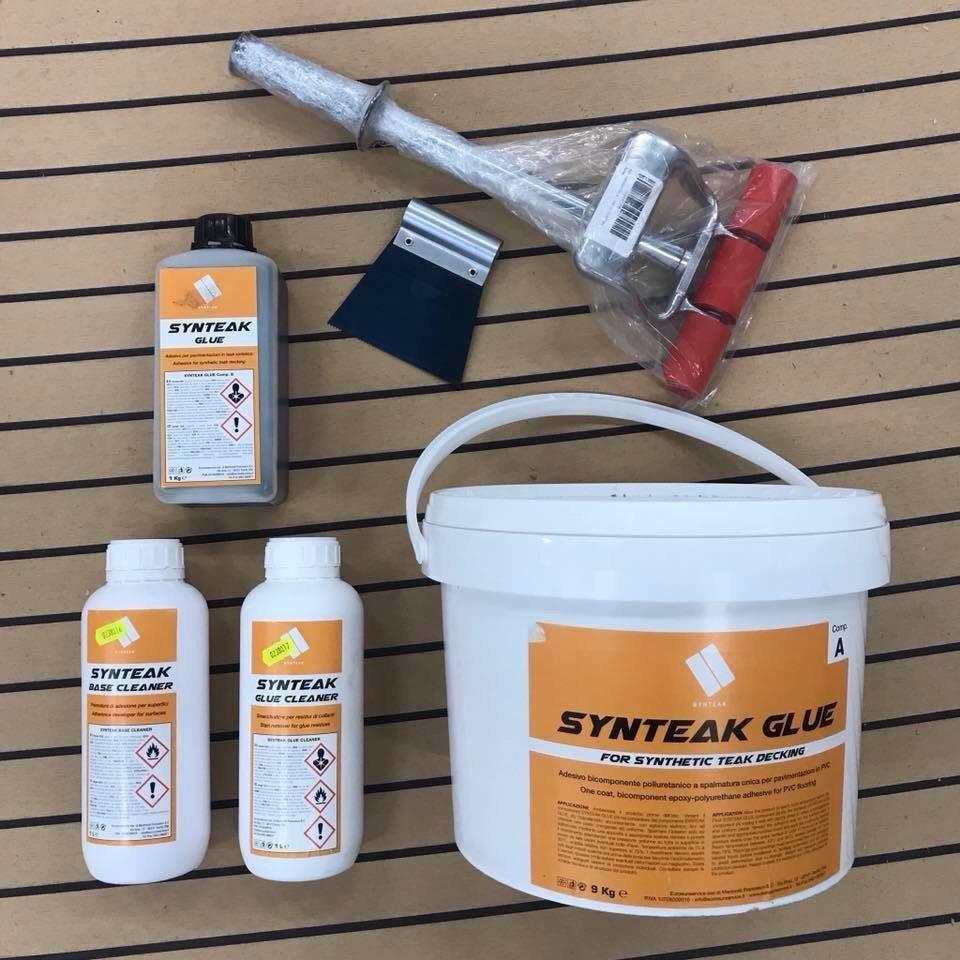 Glue for teak – Teak decking by triM Nautica