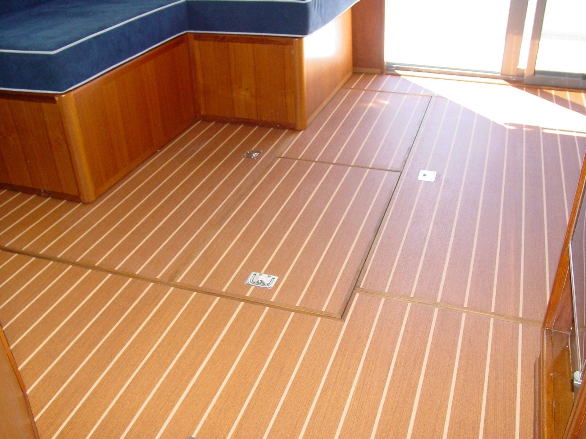 New Product From Plasteak Marine Teak Holly Boat Interior Flooring Teak Decking By Trim Nautica