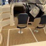 Umjetna tikovina PlasDECK na plovilu Galia 630 SD